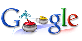 Logo Curling Google