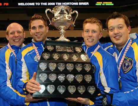 La squadra dell'Alberta